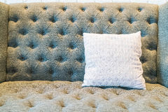 Pillow on sofa decoration in living room. Pillow on sofa decoration interior in living room Stock Image