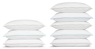 Pillow stack. Stock Photos