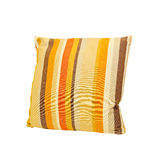 Pillow straps 2. Pillow with straps isolated included clipping path Stock Image