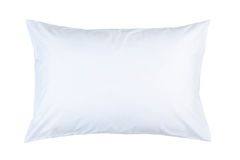 Pillow With White Pillow Case Stock Images