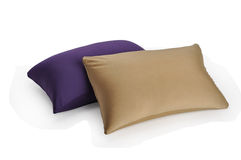 Pillows. Two pillows on a white background Stock Image