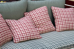Pillows. On the sofa Stock Photography