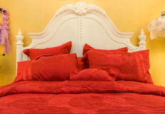Pillows and bed Royalty Free Stock Images