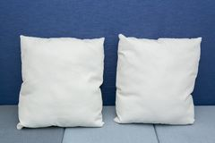 Pillows on a bed Royalty Free Stock Images