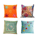 Pillows color Stock Photos