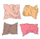 Pillows colored, vector vector illustration