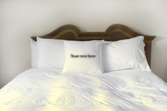 Pillows of Comfort Stock Photos