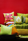 Pillows and cushions Royalty Free Stock Photo