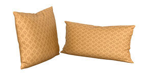 Pillows. Isolated on white background Stock Photography