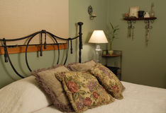 Pillows On A Bed Royalty Free Stock Photography