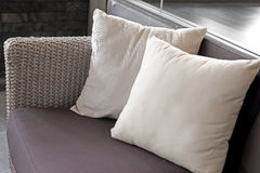 Free Pillows On Sofa In Living Room Royalty Free Stock Photos - 76234708