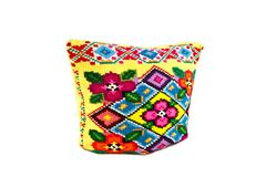 Pillows with a pattern Royalty Free Stock Images