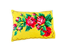 Pillows with a pattern Royalty Free Stock Image