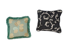 Pillows and pillows cases Royalty Free Stock Photo