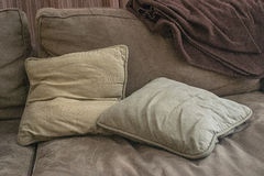 Pillows. Regular party objects at rest Stock Photography