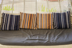 Pillows on sofa Royalty Free Stock Photography