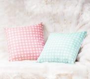 Pillows on the sofa Stock Photo