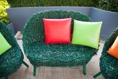 Pillows and sofas Royalty Free Stock Photo