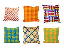 Pillows squares Stock Image