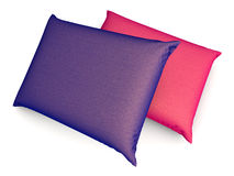 Pillows. Two Pillows. 3D rendered Illustration Royalty Free Stock Photography