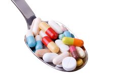 Pills_02 Royalty Free Stock Image