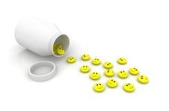 pills royaltyfri fotografi