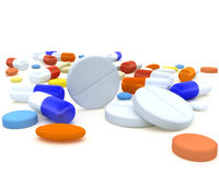 Pills Stock Photo
