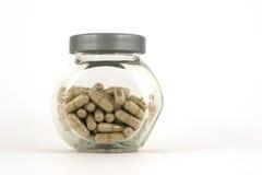 Pills. On a jar Stock Photo