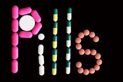 Pills 2 Stock Photography