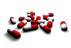 Free Pills Royalty Free Stock Photography - 220327