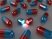 The pills Stock Photos