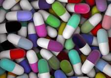 Pills Royaltyfri Foto