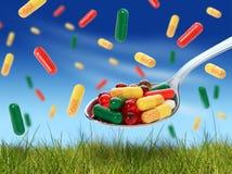 Pills. Royalty Free Stock Image