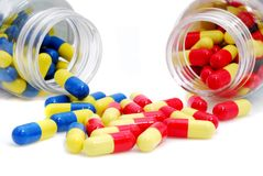 Pills 4 Stock Images