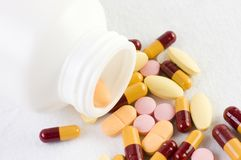 Pills Arkivbild