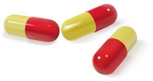 pills royaltyfri illustrationer