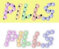 pills Arkivfoto