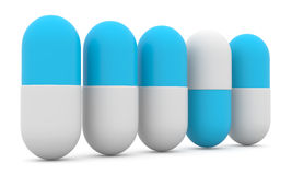pills stock illustrationer