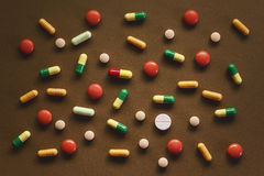 Pills Abstract Royalty Free Stock Photography