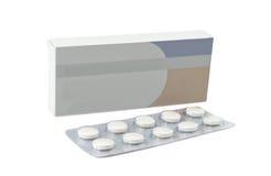 Pills antibiotics Stock Images