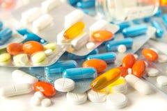 Pills stock photos