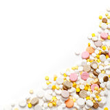 Pills background Stock Photo
