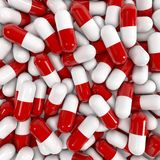Pills background Stock Photos