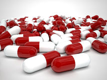 Pills background Stock Images