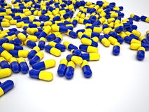 Pills background Royalty Free Stock Photography