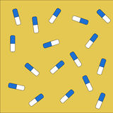 Pills background Stock Photo