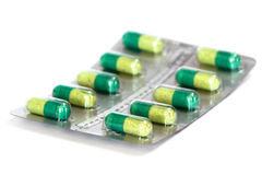Pills in blister Stock Photography