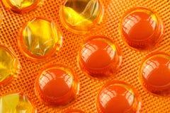Pills in Blister Pack Stock Photo
