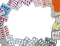Pills in blister pack Stock Images