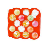 Pills in blister Royalty Free Stock Photography